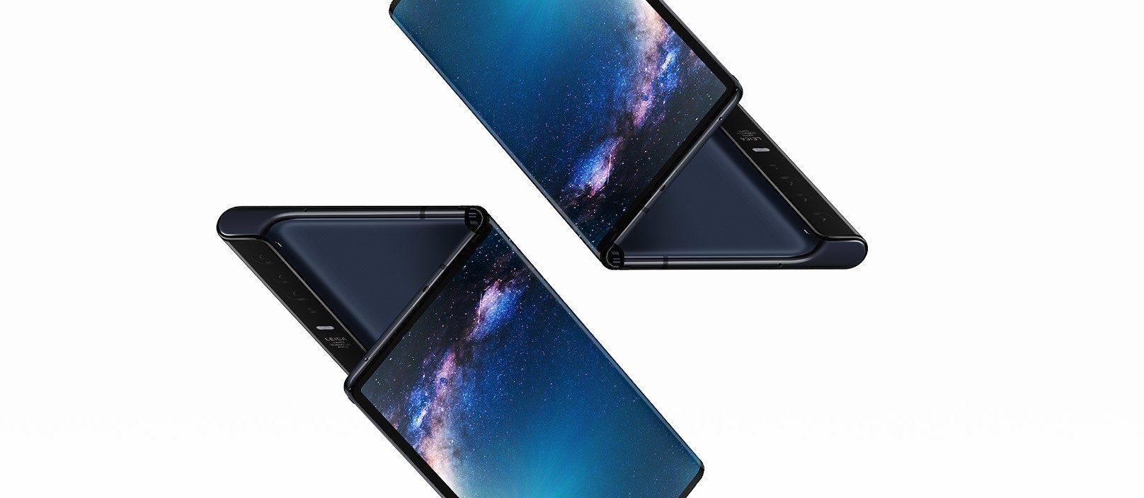 Huawei também apresentou ao mundo seu primeiro smartphone dobrável