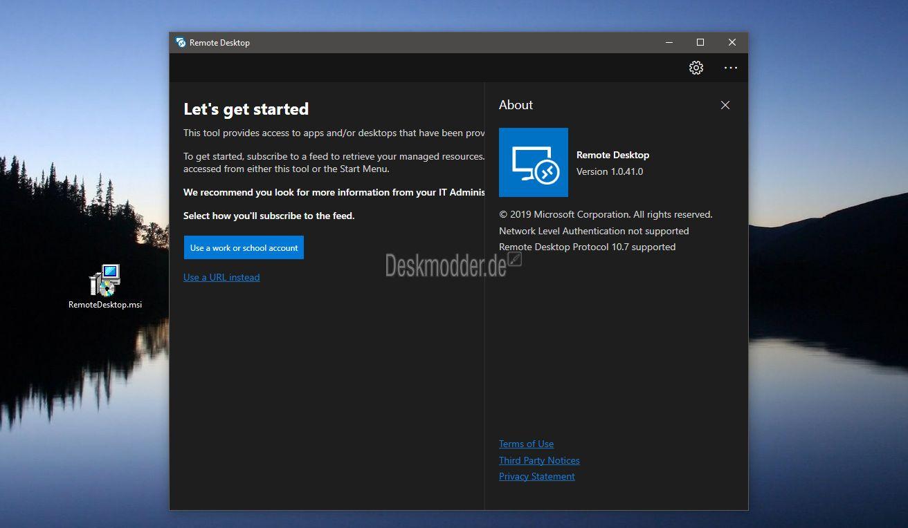 [Vazou!] Novo Cliente de Área de Trabalho Remota da Microsoft