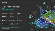Game Stack é a nova plataforma de desenvolvimento de jogos da Microsoft
