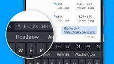SwiftKey: já é possível trocar o buscador padrão Bing pelo Google