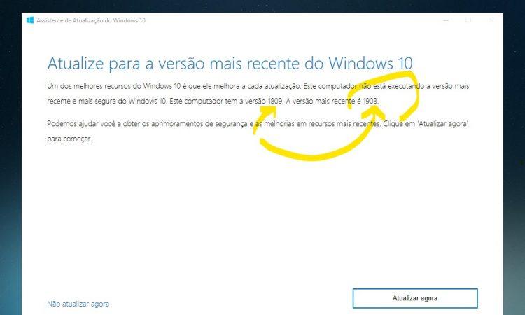 Como obter a atualização de maio de 2019 para o Windows 10 agora?