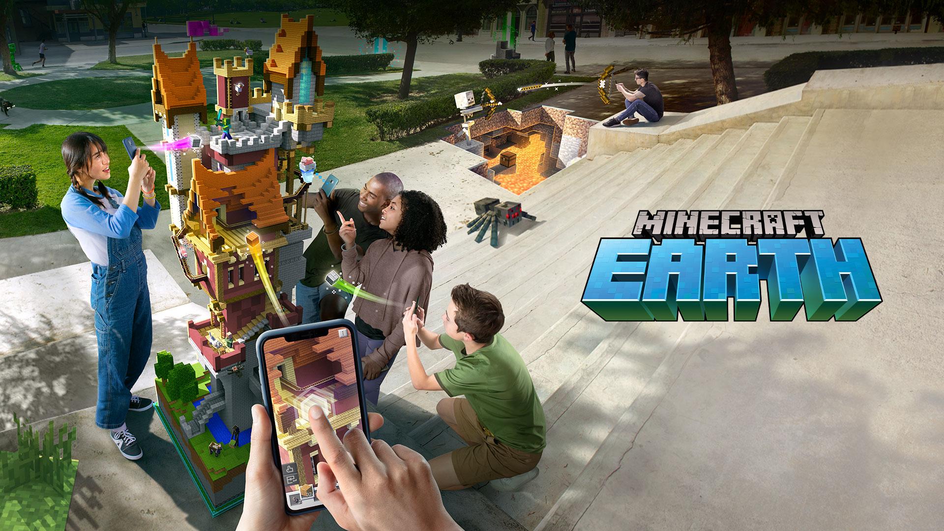 Anunciado o Minecraft Earth baseado em Realidade Aumentada