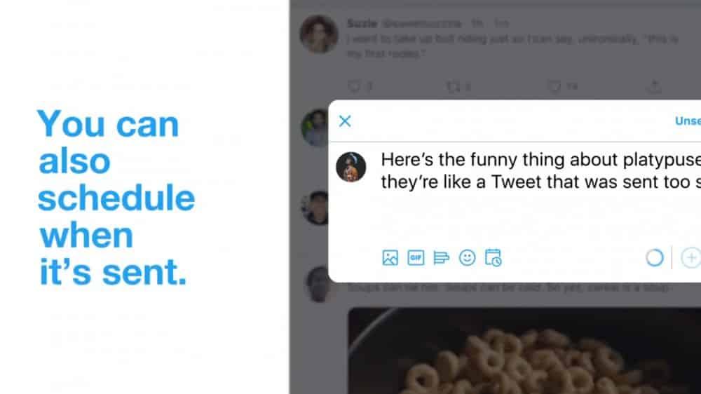 Agendamento de tweets: rede social agora possibilita agendar postagem pelo próprio aplicativo