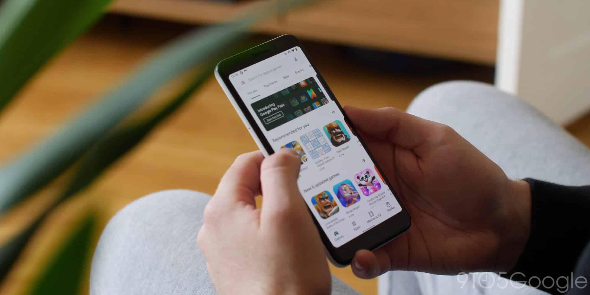 Google Play sofre problemas para acessar