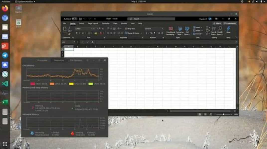 Microsoft Office no Ubuntu 20.04: novo sistema sem WINE ou nuvem