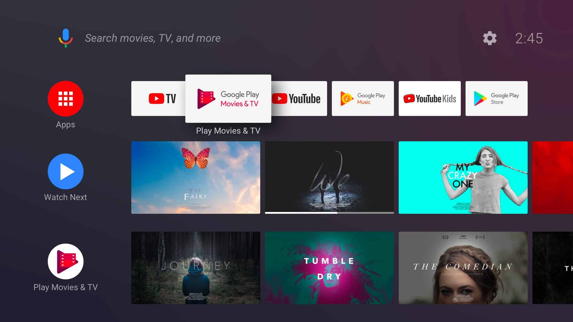 O futuro da Android TV se parece com a Amazon Fire TV