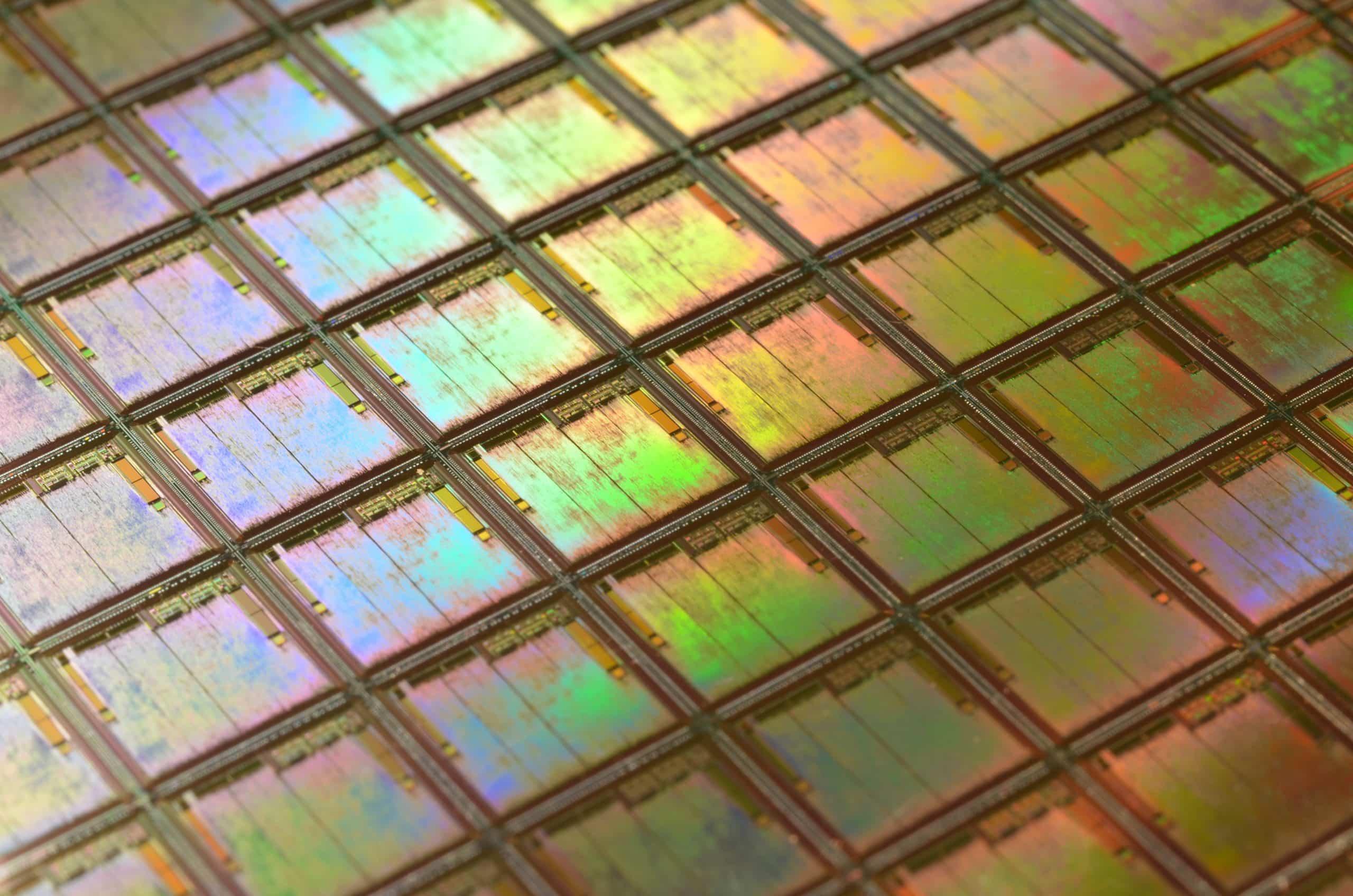 O que é a litografia do processador?