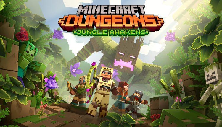 DLC de Minecraft Dungeons e atualização gratuita serão disponibilizadas na próxima semana