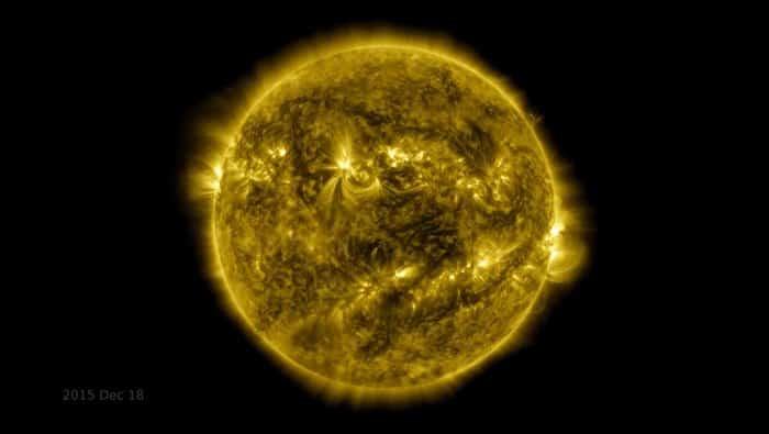 NASA libera imagens aceleradas dos últimos 10 anos de observação do sol!