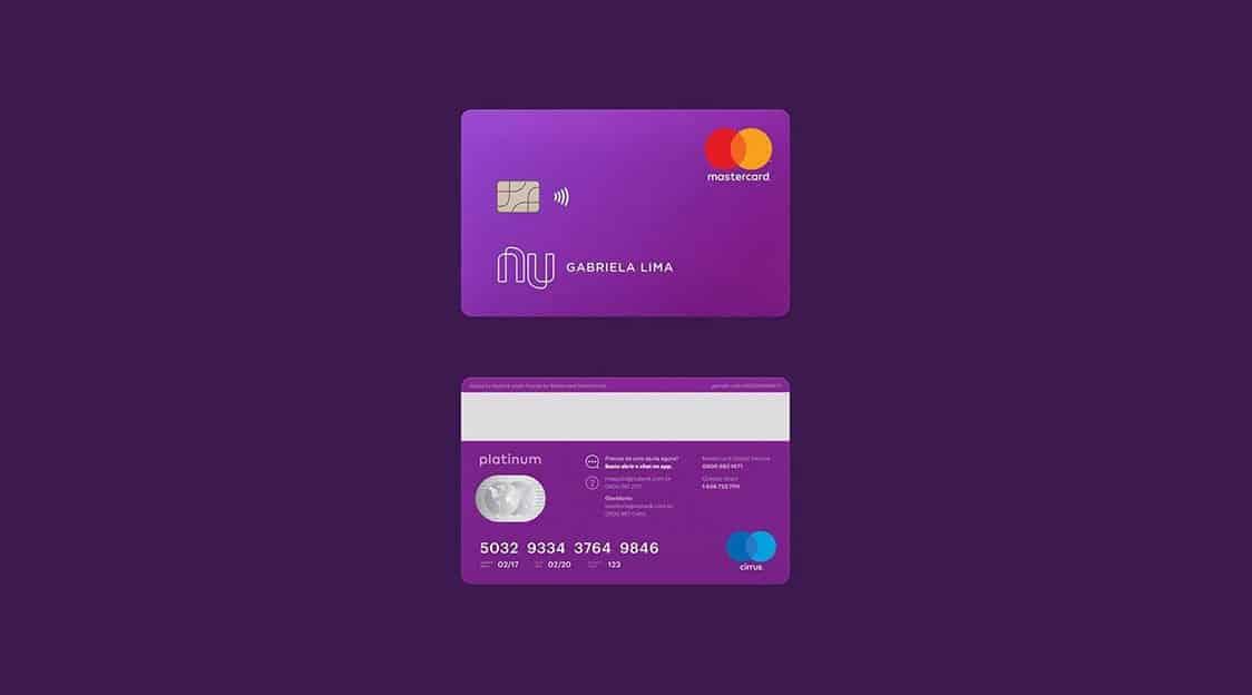 Nubank agora tem opção de doação via cartão de crédito