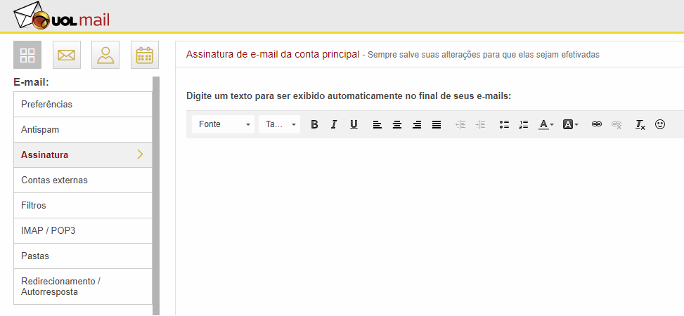 Webmail da UOL: Falha grave permite invasão por um simples envio de e-mail
