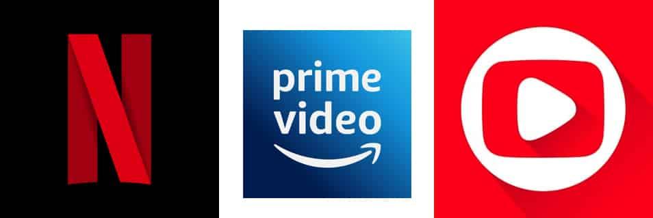 A guerra dos streamings: Netflix x Prime Video x Globoplay