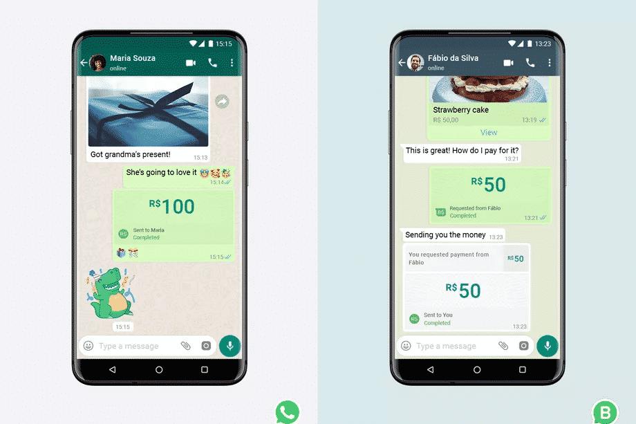WhatsApp lança pagamentos digitais no Brasil após teste beta na Índia