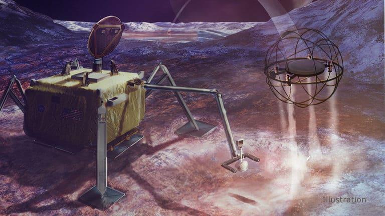 NASA quer construir um robô de salto a vapor para explorar mundos gelados