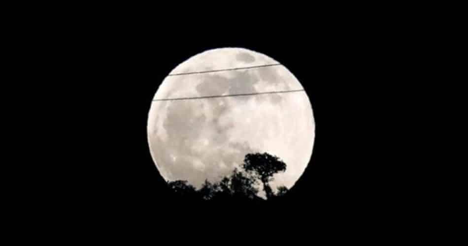 Eclipse Lunar Penumbral já acabou, aqui estão algumas fotos
