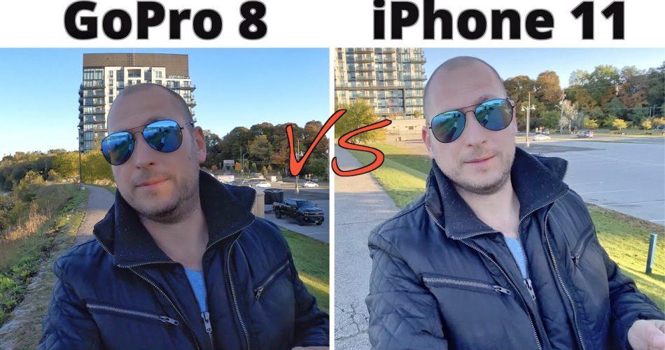 Iphone 11 x GoPro 8: Qual a melhor filmagem e fotografia?