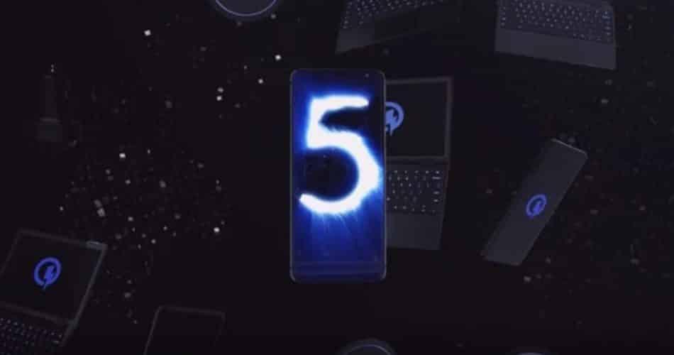 Quick Charge 5 recarrega 50% da bateria em apenas 5 minutos