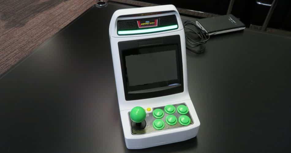 SEGA anuncia mini arcade com 36 jogos