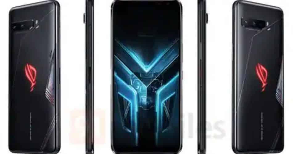 Renderizações do ASUS ROG Phone 3 vazaram antes do lançamento