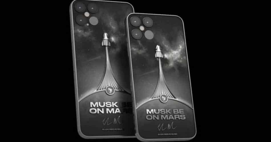 Apple vende iphone 12 com peça de foguete