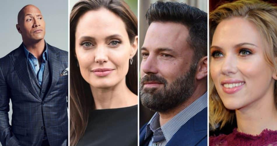 Atores e atrizes mais bem pagos de Hollywood: saiba quais são!