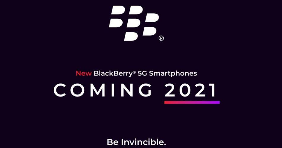 BlackBerry 5G chega em 2021 com segurança e design na vanguarda
