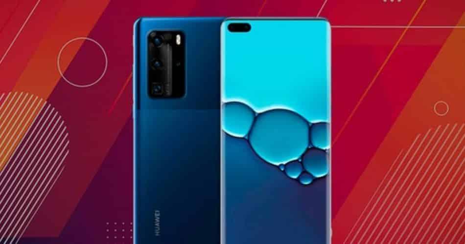 Capa protetora vaza em imagem mostrando o real Huawei Mate 40 Pro
