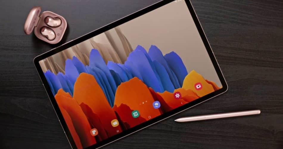 Galaxy Tab S7 e S7+ da Samsung são os primeiros tablets 5G nos EUA