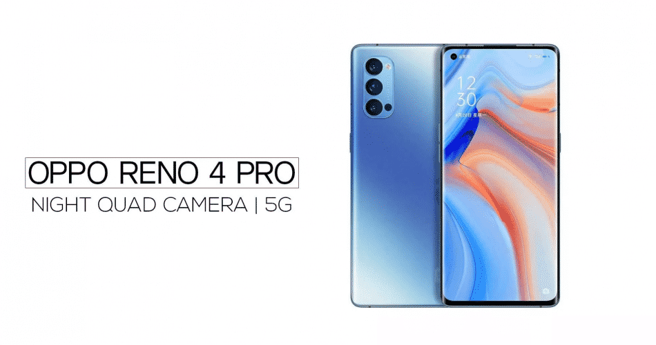 """Oppo Reno4 Pro ganha versão global elegante e com tela de 6,5"""""""