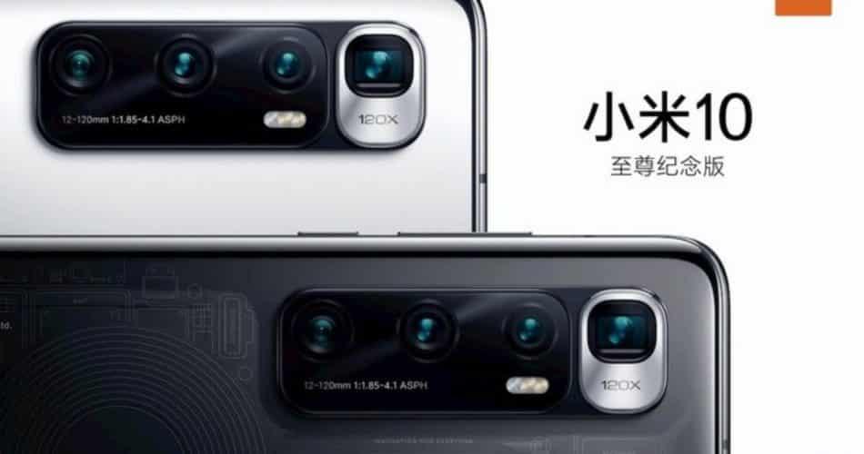 Xiami Mi 10 Ultra terá uma câmera arrasadora de 120x