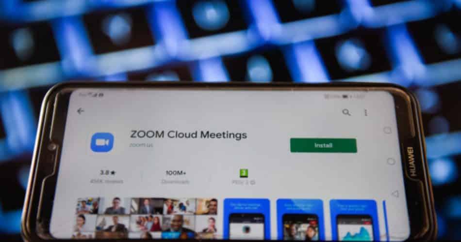 Zoom fica indisponível na manhã dessa segunda-feira