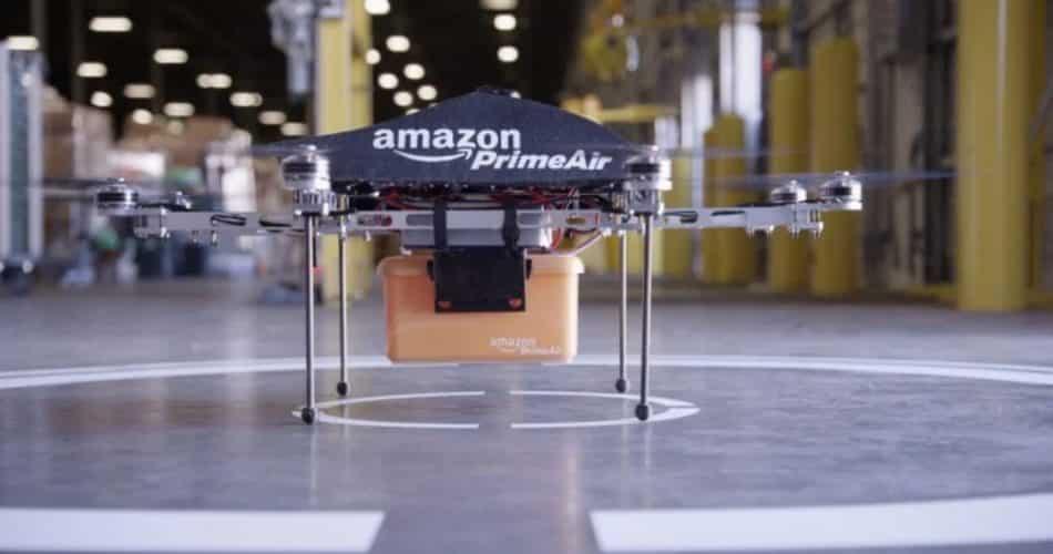 Amazon é autorizada a fazer entrega por drones