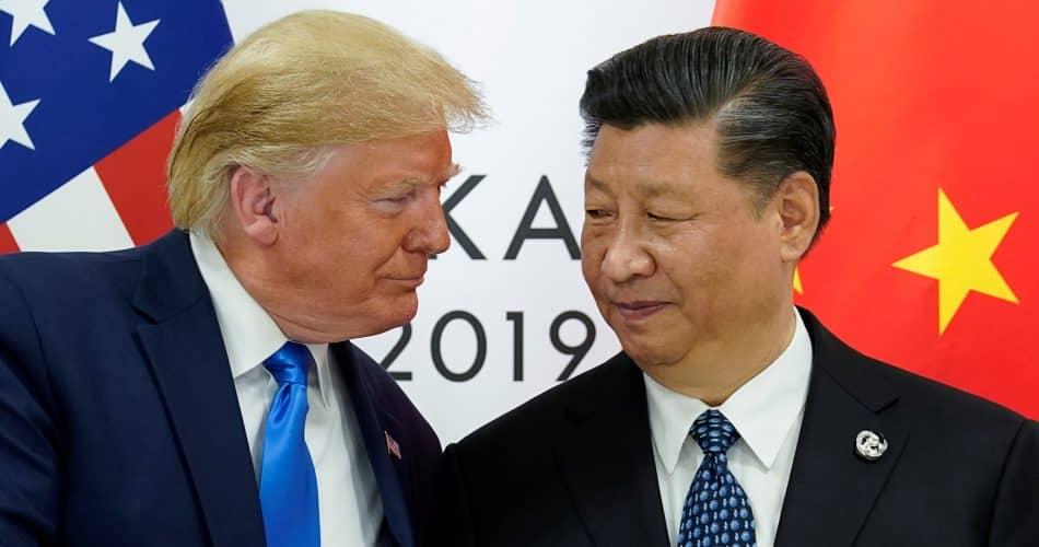 Trump e Xi jiping