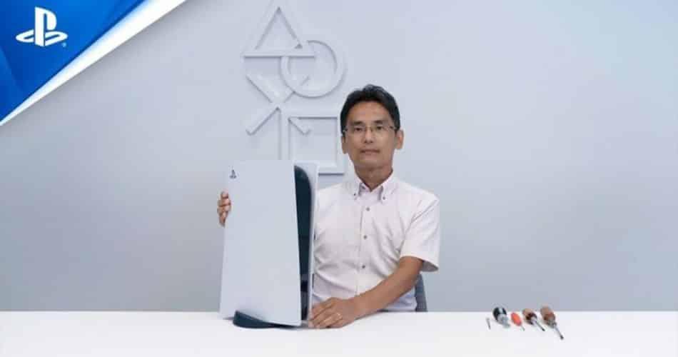PS5 é desmontado em vídeo da Sony; assista