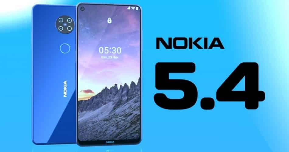 Nokia 5.4 vazou especificações, data de lançamento, preço e outros detalhes