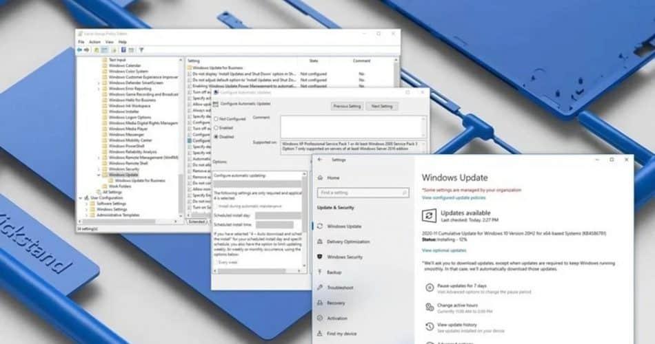 Como parar as atualizações automáticas no Windows 10