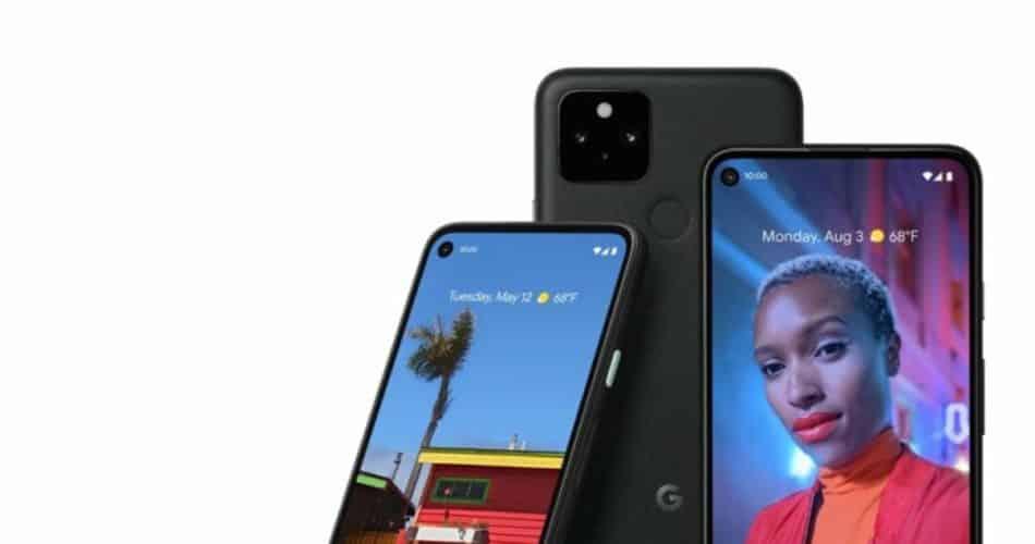 """O Google diz que o design ruim do Pixel 5 é um recurso """"normal"""""""
