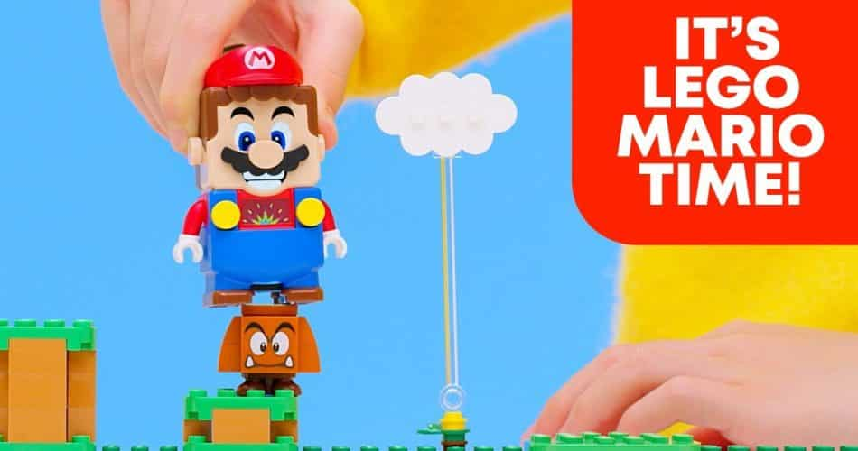 LEGO e Nintendo expandem o universo de Super Mario
