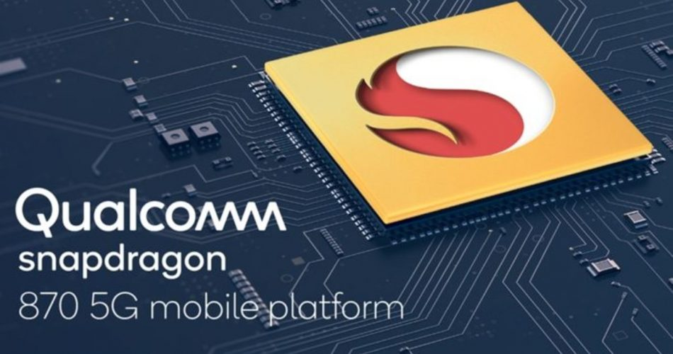 Qualcomm Snapdragon 870 é a versão turbinada do Snapdragon 865+
