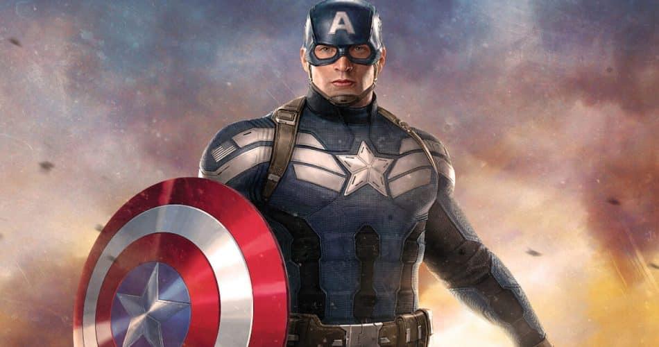 Veja a reação de Chris Evans ao ver o novo Capitão América em Falcão e o Soldado Invernal.