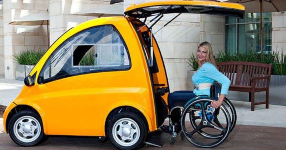 Community Cars cria carro elétrico para pessoas com mobilidade reduzida!