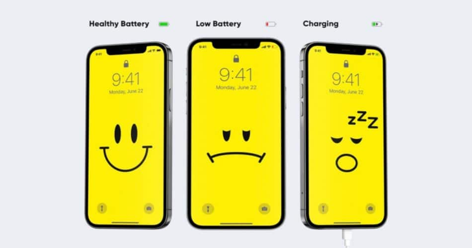 Esses engenhosos papéis de parede do iPhone garantem que sua bateria nunca acabe
