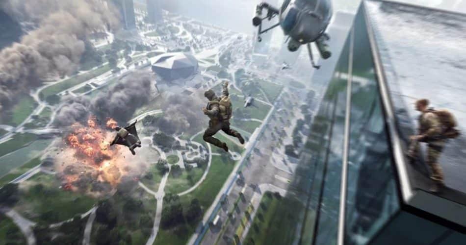 Lançamento do Battlefield 2042 para Xbox e PC em 22 de outubro, com pré-encomendas ao vivo hoje