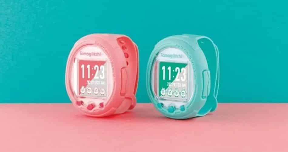 Tamagotchi vira smartwatch aos 25 anos!