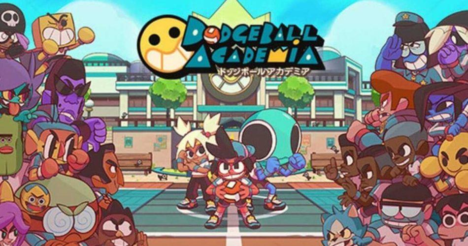 Dodgeball Academia chega em agosto de 2021 no PS4!