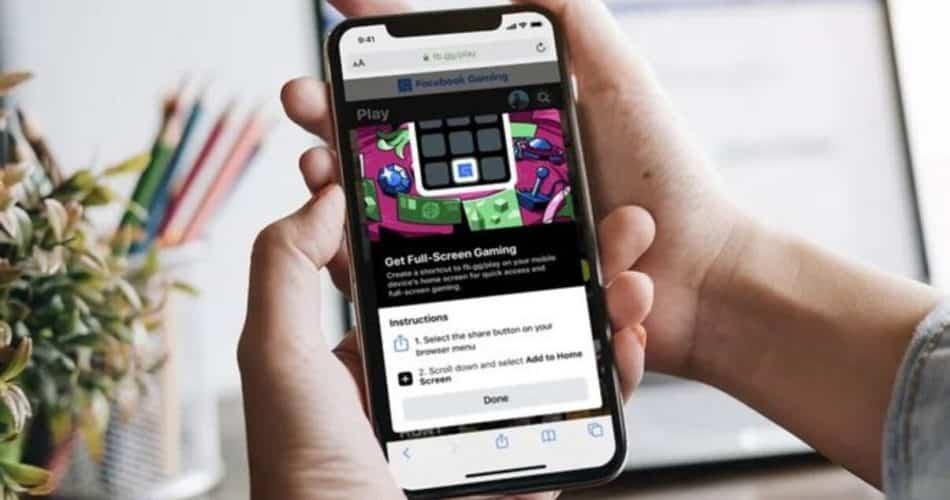 Facebook vai levar jogos em nuvem para o iOS!