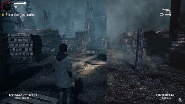 Novo trailer de 'Alan Wake Remastered' mostra o quanto os gráficos melhoraram! - Foto: CO MAS