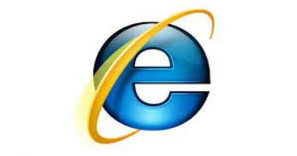 Como era a primeira versão do Internet Explorer?