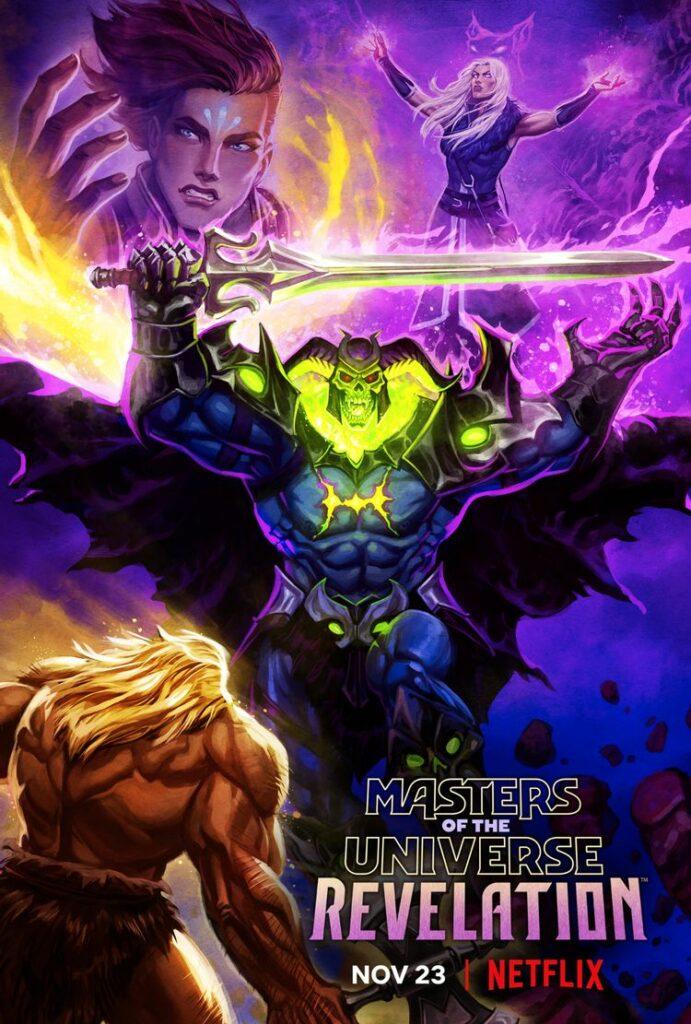 Pôster de 'Mestres do Universo: Revelação - Part 2' revela uma data de lançamento na Netflix! - Foto: CO MAS