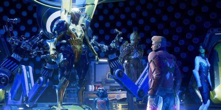 Trailer de lançamento de 'Guardiões da Galáxia da Marvel' dá início à ação e apresenta Adam Warlock! - Foto: CO MAS